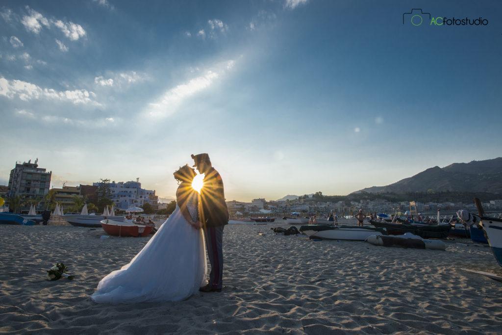 sposi al sole