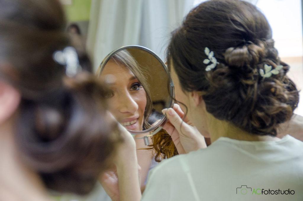 34 sposa allo specchietto